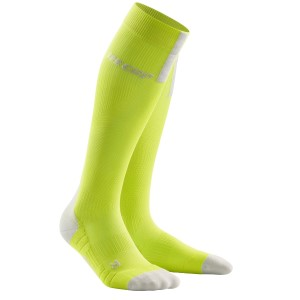 CEP Compression Run Socks 3.0 - Lime/Grey