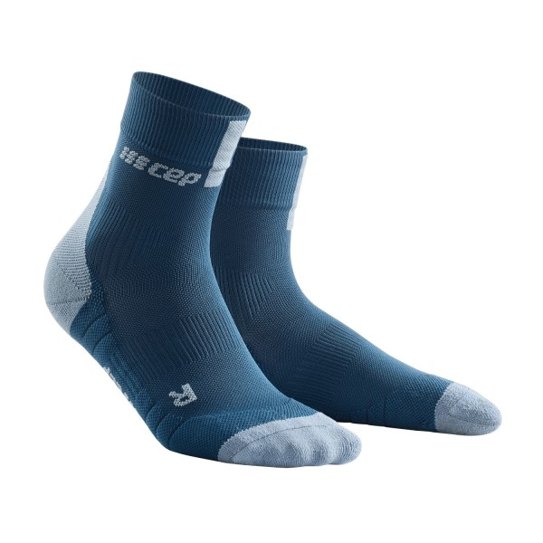 CEP High Cut Running Socks 3.0 - Blue/Grey