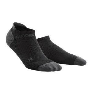 CEP No Show Running Socks 3.0 - Black/Grey