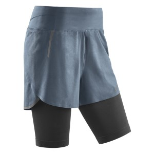 CEP Compression 2-In-1 Womens Running Shorts
