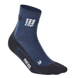 CEP Merino High Cut Socks - Navy/Black