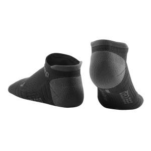 CEP No Show Running Socks 3.0 - Black/Grey - Black/Grey