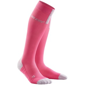 CEP Compression Run Socks 3.0 - Pink/Grey