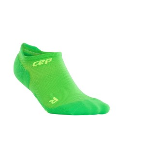 CEP Ultra Light No Show Running Socks - Green