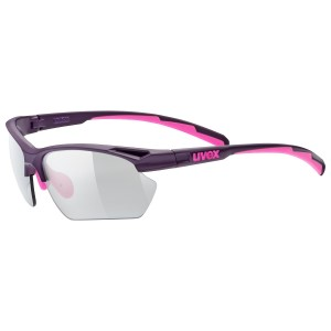 UVEX Sportstyle 802 Vario Photochromic Light Reacting Multi Sport Sunglasses - Small