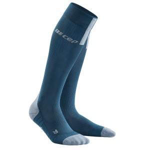 CEP Compression Run Socks 3.0 - Blue/Grey