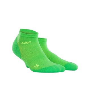 CEP Ultra Light Low Cut Running Socks - Green