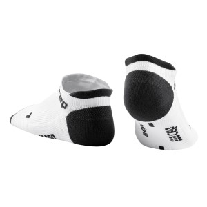 CEP No Show Running Socks 3.0 - White/Grey - White/Grey