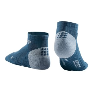 CEP Low Cut Running Socks 3.0 - Blue/Grey