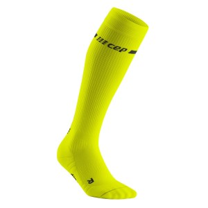 CEP Neon Compression Running Socks