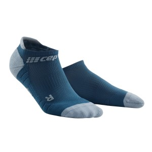 CEP No Show Running Socks 3.0 - Blue/Grey
