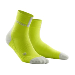 CEP High Cut Running Socks 3.0 - Lime/Grey