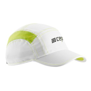 CEP Running Cap - White/Green