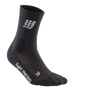 CEP Outdoor/Trail Running Socks - Lava Stone