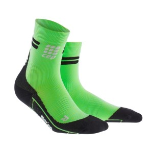 CEP Merino High Cut Socks - Viper/Black