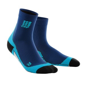 CEP High Cut Running Socks - Navy/Blue